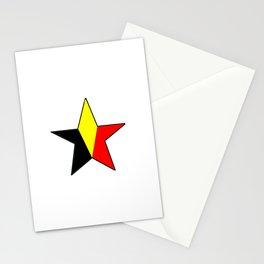 Flag of belgium 6 belgian,belge,belgique,bruxelles,Tintin,Simenon,Charleroi,Anvers,Maeterlinck Stationery Cards