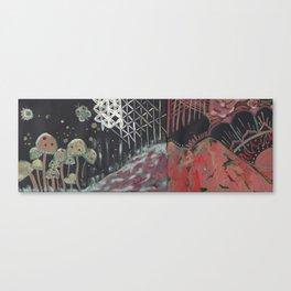lysergic landscape Canvas Print