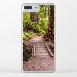 Hike to Sol Duc Falls, Olympic Peninsula, WA Clear iPhone Case