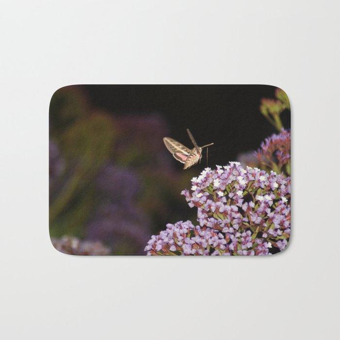 Hummingbird Hawk Moth Bath Mat