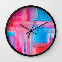 Improvisation 21 Wall Clock