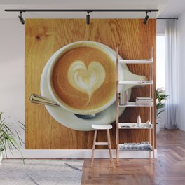 A Warm Cup of Love Wall Mural