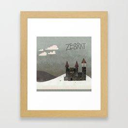 At the Castle - inspired by Zebrat Framed Art Print