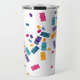 Sweet Jelly Beans & Gummy Bears Travel Mug