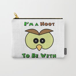 I'm A Hoot Owl Face Carry-All Pouch
