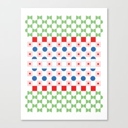 RGB Poster Canvas Print