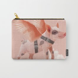 Little Piggy can Fly II Carry-All Pouch