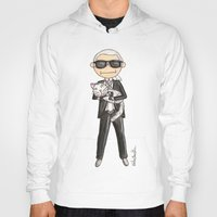 karl lagerfeld Hoodies featuring Little Karl Lagerfeld by KahriAnne Kerr