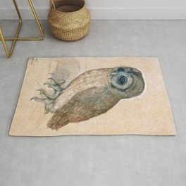 The Little Owl 1508 Albrecht Durer Rug