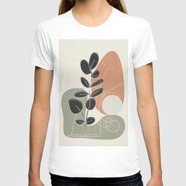 Minimal Abstract Shapes No.73 T-shirt