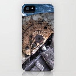 Machine Rust Hydraulic Ram iPhone Case