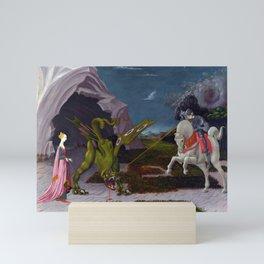 "Paolo Uccello ""Saint George and the Dragon"" Mini Art Print"