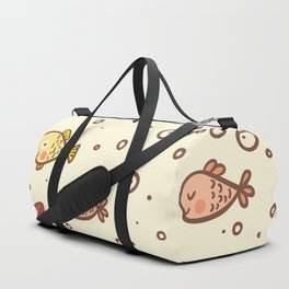 Cute Vintage Style Sea life Seamless Pattern Duffle Bag