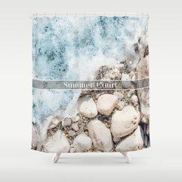 Summer Court Shower Curtain