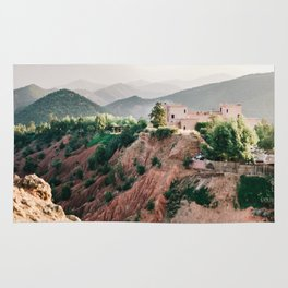 Travel photography Atlas Mountains Ourika | Colorful Marrakech Morocco photo Rug