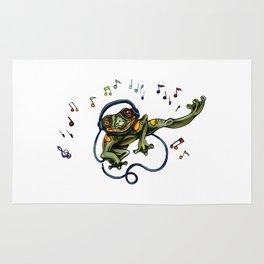 Frog Dancer Rug