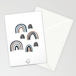 Rainbow love magic dream land baby nursery composition boys Stationery Cards