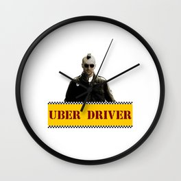 Taxi Driver Update Wall Clock