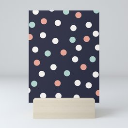 Highlight spot print Mini Art Print