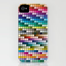 Color Chart Slim Case iPhone (4, 4s)
