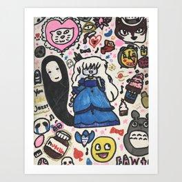 Pop Swag Too Art Print