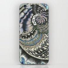 Golden Spiral (no fear) iPhone & iPod Skin
