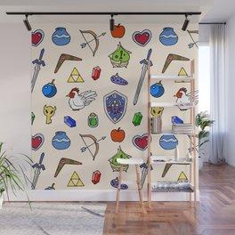Zelda pattern Wall Mural