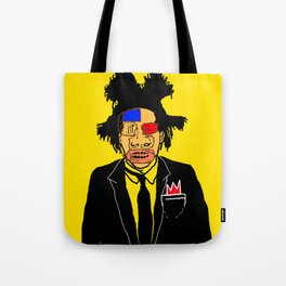 Jean Michelle Basquiat Tote Bag