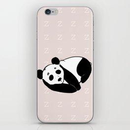 zzz - Sleeping Panda iPhone Skin
