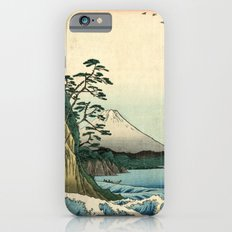 Utagawa Hiroshige The Sea at Satta in Suruga Province iPhone 6s Slim Case