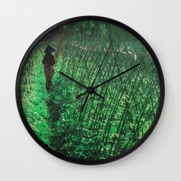 Lombok garden Wall Clock