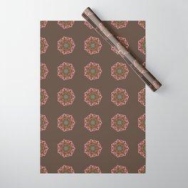 Aztec Mandala Wrapping Paper