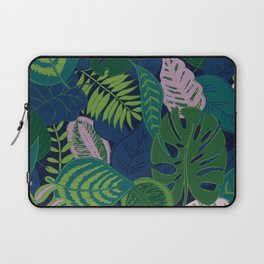 Tropical forest at night  Laptop Sleeve