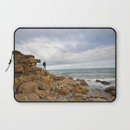 Cocklawburn Beach Laptop Sleeve
