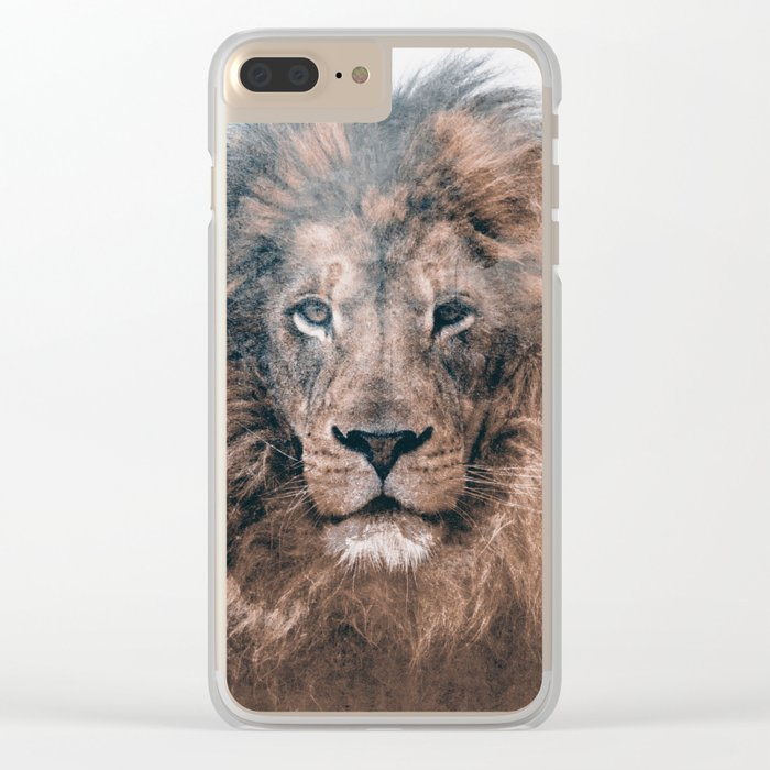LION 2 Clear iPhone Case