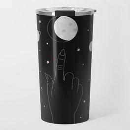 Whisper - Moon Phase Illustration Travel Mug