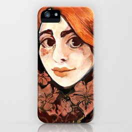 Brambles fairy iPhone Case