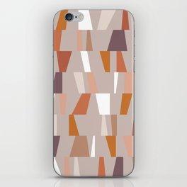 Neutral Geometric 03 iPhone Skin