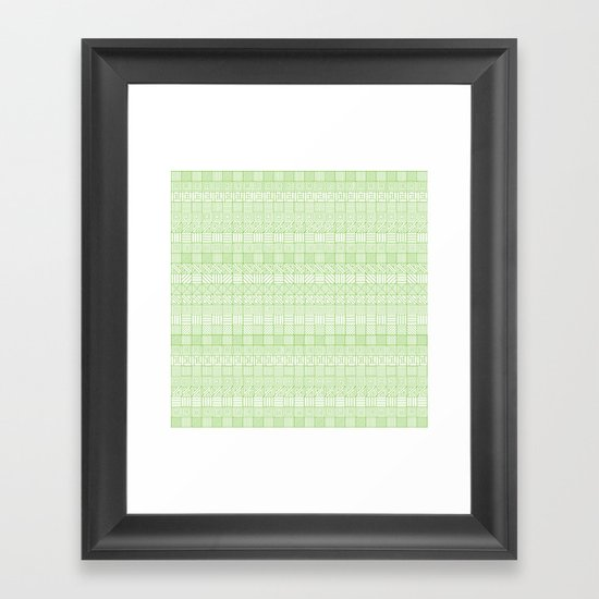 Square Syndrome Framed Art Print