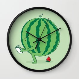 The Making of Strawberry Wall Clock