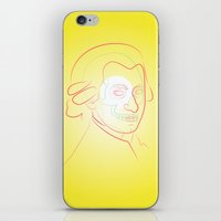 mozart iPhone & iPod Skins featuring Mozart by Raúl Yslas