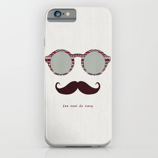 je m'en fous #2 iPhone & iPod Case