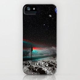 It used to stay crowded back there iPhone Case
