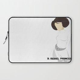 Rebel Princess  Laptop Sleeve