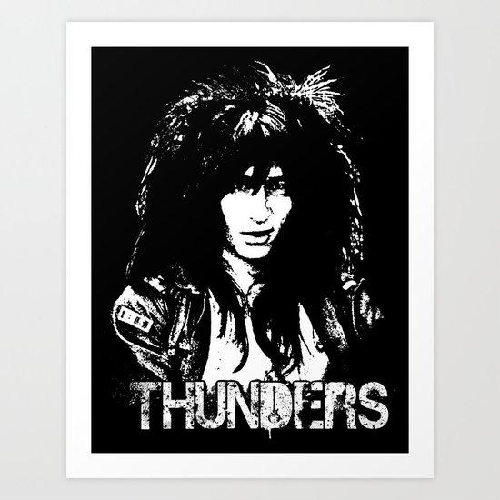 Johnny Thunders Art Print