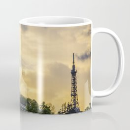 Sunset over Lyon Coffee Mug