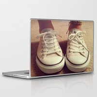 converse Laptop & iPad Skins featuring Converse by M O L L Y J A N E