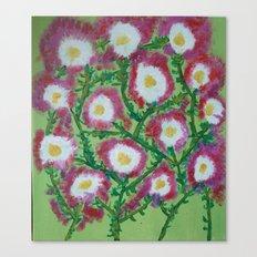 Flowers for Nana Canvas Print
