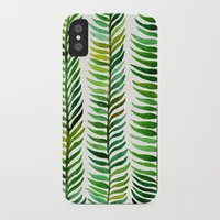 shower iPhone & iPod Cases featuring Seaweed by Cat Coquillette