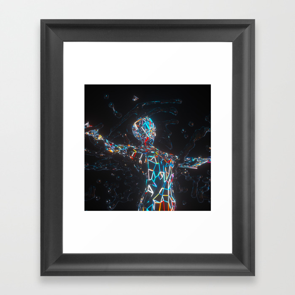 Surge Plane Protectors Framed Artwork by Synctumcreative FRM8576750